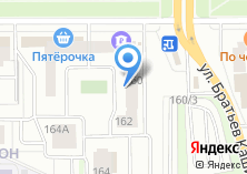 Компания «Строящийся жилой дом по ул. Братьев Кашириных» на карте