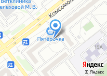 Компания «Пятерочка сеть супермаркетов» на карте
