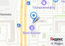 Компания «Дракон-Челябинск» на карте