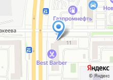 Компания «Автотеатр-Челябинск» на карте