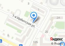 Компания «Сладости для радости» на карте