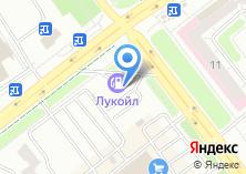 Компания «АЗС Лукойл Курчатовский район» на карте