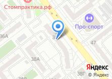 Компания «Уральская метелица» на карте