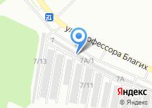 Компания «Автоключ74» на карте