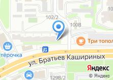 Компания «АВТОЮРИСТ 74» на карте
