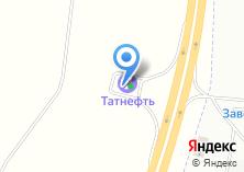 Компания «АЗС Татнефть» на карте