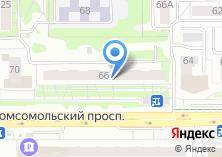 Компания «Массажный кабинет Юрия Журавлева» на карте
