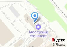 Компания «Челябинский автобусный транспорт» на карте