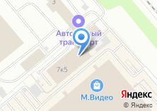 Компания «Кристи - Производство мягкой мебели» на карте