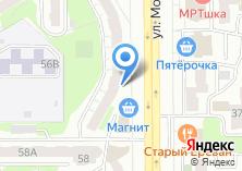 Компания «Пик формы» на карте