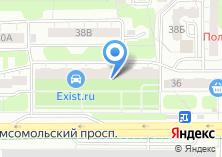 Компания «Настенька» на карте