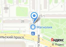 Компания «Студия красоты Анастасии Курмановой» на карте