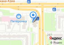 Компания «Юмакс» на карте