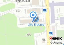 Компания «Лес74» на карте
