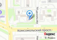 Компания «Дверной квартал» на карте