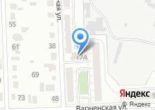 Компания «Интербетон74» на карте