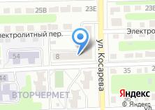 Компания «Парикмахерская на ул. Косарева» на карте