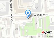 Компания «КАСТОМ» на карте