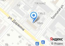 Компания «Урал-Каркас» на карте
