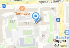 Компания «Пласт-Окно» на карте