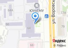 Компания «Челябинвестбанк» на карте