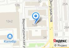Компания «КТИАМ» на карте