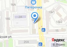 Компания «Чемодан-тур» на карте