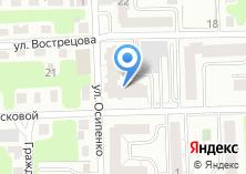 Компания «Строящийся жилой дом по ул. Осипенко» на карте