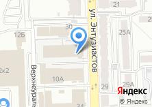 Компания «StarLine174» на карте