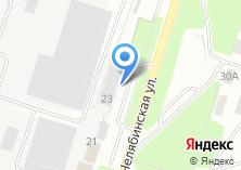 Компания «Трубодеталь» на карте