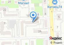 Компания «Сапромаркет» на карте