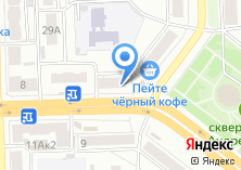 Компания «Цветы74» на карте