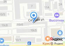 Компания «Engine Service» на карте