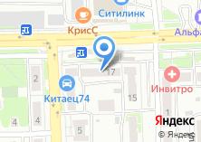 Компания «ModiDent» на карте