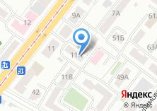 Компания «АгроБурВодСтрой» на карте