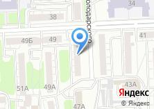 Компания «40метров» на карте