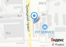 Компания «ДетальДизельТрейдинг» на карте