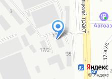 Компания «Техавтосервис» на карте