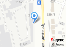 Компания «Деловые Линии» на карте