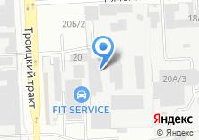 Компания «Фирма УралПром» на карте