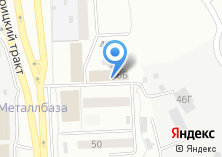 Компания «Штурман-М» на карте