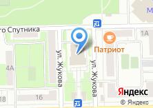 Компания «Интерсвязь» на карте