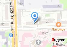 Компания «Шифт» на карте