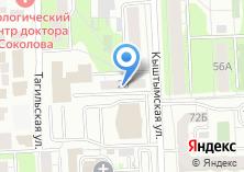 Компания «Smart» на карте