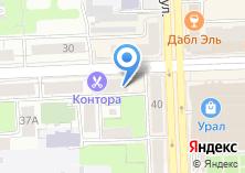 Компания «Kontora Barbershop» на карте
