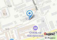 Компания «САГУС» на карте