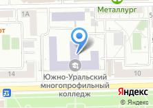Компания «ЮУМК» на карте