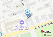 Компания «МТ Техно Челябинск» на карте