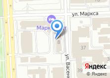 Компания «Пограничное управление федеральной службы безопасности РФ по Челябинской области» на карте
