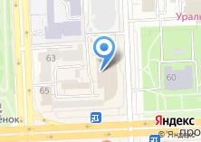 Компания «Рекламный советник» на карте